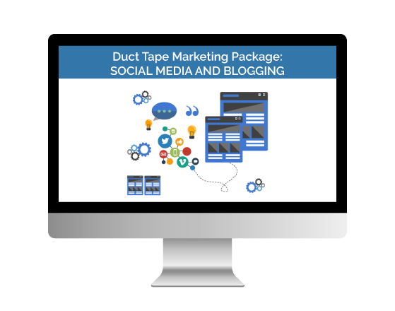 Duct Tape Marketing Social Media and Blogging Package