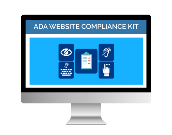 image of ADA website compliance booster icons